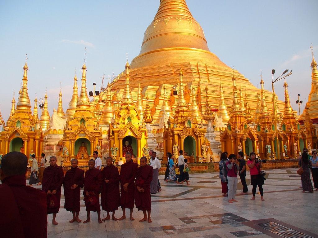 Asia Urban pagoda dome